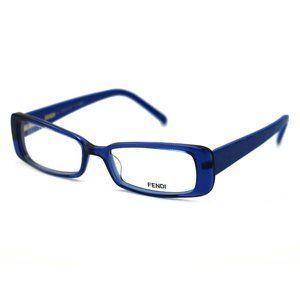 Fendi Rectangular Style Blue Frame